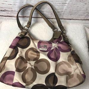 Coach purse hobo bag shoulder bag